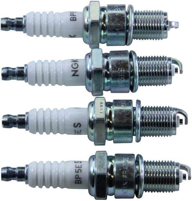 6511 NGK Spark Plug Pack of 4 NGK BP5ES