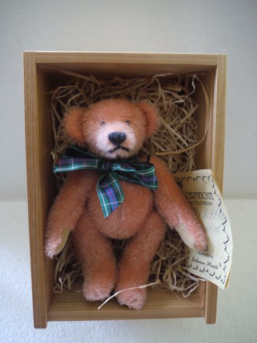"""""""My Little Friend"""" 5-1/2"""" Handmade Jointed Rose Bear, used for sale  Delivered anywhere in USA"""
