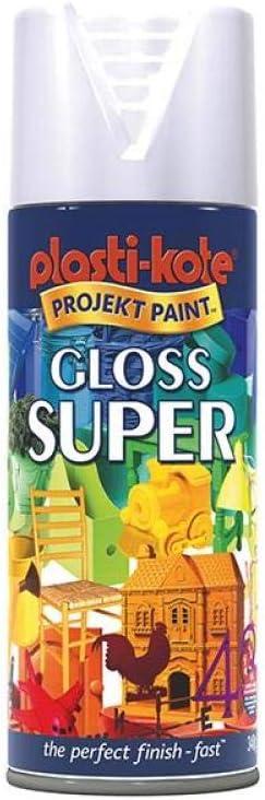 Plasti-kote Super Gloss - White