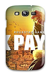 New Style CaseyKBrown Max Payne 3 2012 Game Premium Tpu Cover Case For Galaxy S3