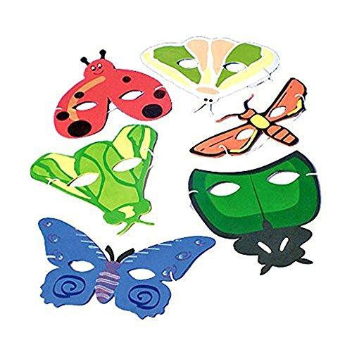 Dozen Bug Animal Masks