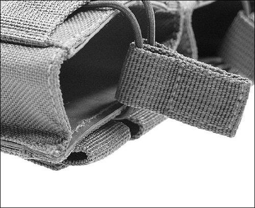BE-X Offene Magazintasche für CQB, für MOLLE, für 2 G36 Magazine - UCP (ACU)