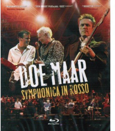 Blu-ray : Doe Maar - Symphonica In Rosso 2012 (Holland - Import)