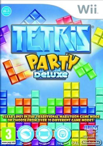 Nintendo Tetris: Party Deluxe, Wii - Juego (Wii, Nintendo Wii, Rompecabezas, Hudson Soft, 1/06/2010, E (para todos), ENG): Amazon.es: Videojuegos