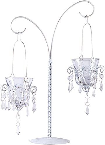20 WEDDING MINI CHANDELIER CENTERPIECES FAVORS 17 TALL