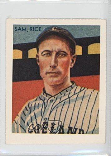 Sam Rice (Baseball Practical joker) 1977 Dover Classic Baseball Cards Reprints - [Base] #SARI