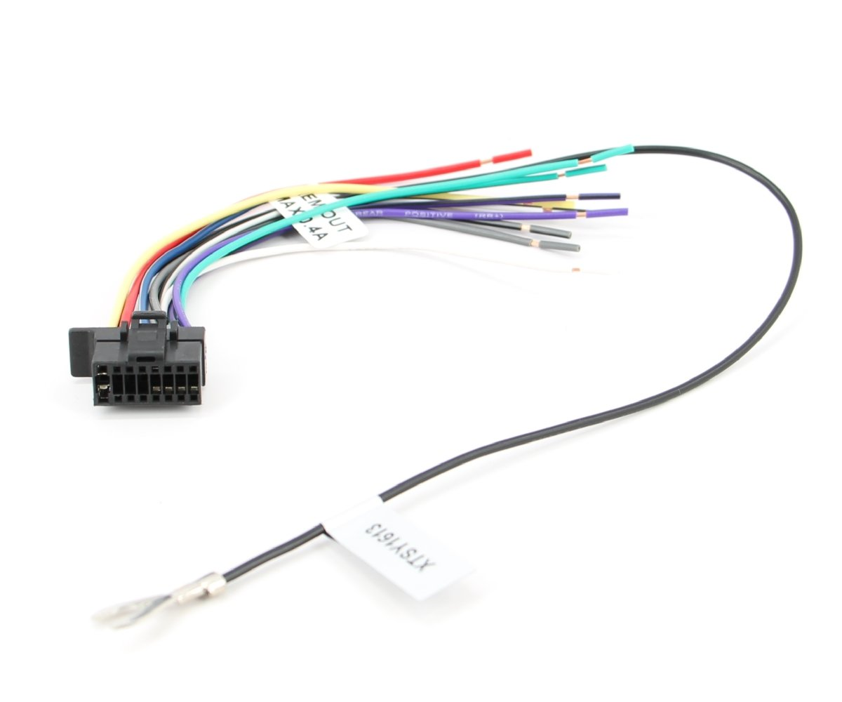 Amazon.com: Xtenzi Sony Radio Wire Harness WX-GT80UI CDX-GT575UP MEX-BT4100P  CDX-GS500R MEX-GS600BT CDX-GT710HD WX-GT90BT CDX-GT270MP CDX-GT570UP ...