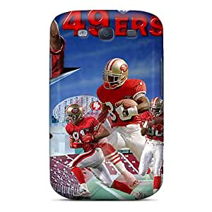 Flexible Tpu Back Case Cover For Galaxy S3 - San Francisco 49ers