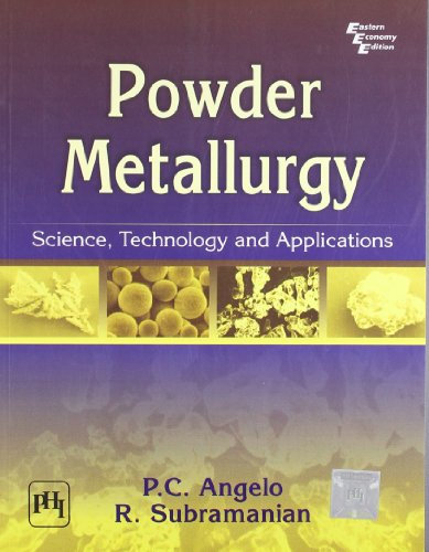 Powder Metallurgy Books Pdf