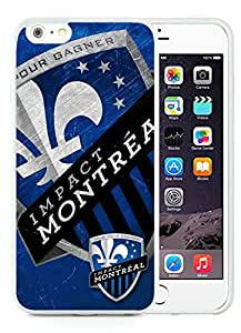 Fashionable And Antiskid Designed iPhone 6 plus Case MLS Montreal Impact iPhone 6 Plus 5.5 inch TPU Case Cover 06 White