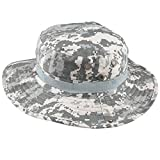 squaregarden Military Camo Adjustable Boonie Hat Hunting Bucket Hats / US ACU Digital Camo