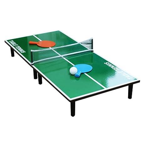 Belingeya-toy Mini Juego de Mesa Mini Mesa de Ping Pong portátil ...