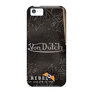 Bumper Hard Phone Cover For Apple Iphone 5c (otj442Akra) Support Personal Customs HD Von Dutch Image