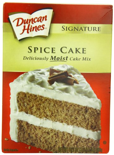 Spice Cake Mix - Duncan Hines Signature Cake Mix, Spice Cake, 16.5 Ounce (Pack of 6)