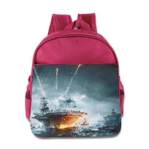 MoMo Unisex Battlefield 4 Poster Boy Girl Backpacks Bags For Little Kids