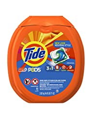 Tide PODS 3 in 1 HE Turbo Laundry Detergent Pacs, Original Sc...