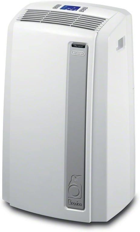 De'Longhi PACAN140ES.WH-3A Pinguino Plus Portable Air Conditioner, 600 sq. ft.