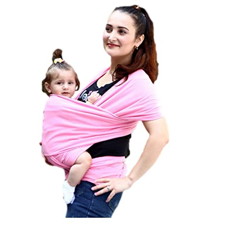 Buy Threecat Baby Carrier Wraps Breathable Cotton Stretchy Baby
