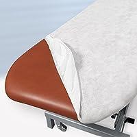 Sábana de camilla desechable ajustable color blanco 80