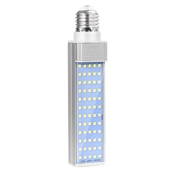 NICERIO 11W E27 LED Lámpara Iluminacion Acuario LED Luces Ahorro de Energía para Pecera y Estanques (Blanc): Amazon.es: Productos para mascotas