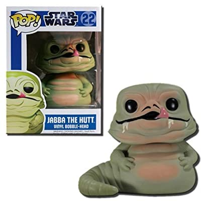 Funko POP Star Wars (BOBBLE): Jabba the Hutt: Funko Pop! Star Wars:: Toys & Games