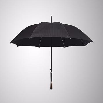 CNBBGJ Paraguas para los hombres de negocios se duplica automáticamente la sombrilla Largo Caballero creativo original