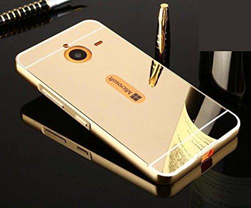 Lumia 640XL Mirror Case, OMORRO Luxury Ultra Thin