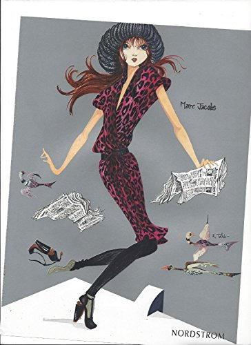 MAGAZINE PAPER AD For Marc Jacobs Nordstrom Boutiques (Marc By Marc Jacobs Nordstrom)