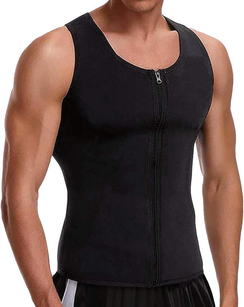 Cimkiz Hot Sweat Vest Neoprene Sauna Vest for Weight Loss Tummy Fat Burner Slimming : Clothing