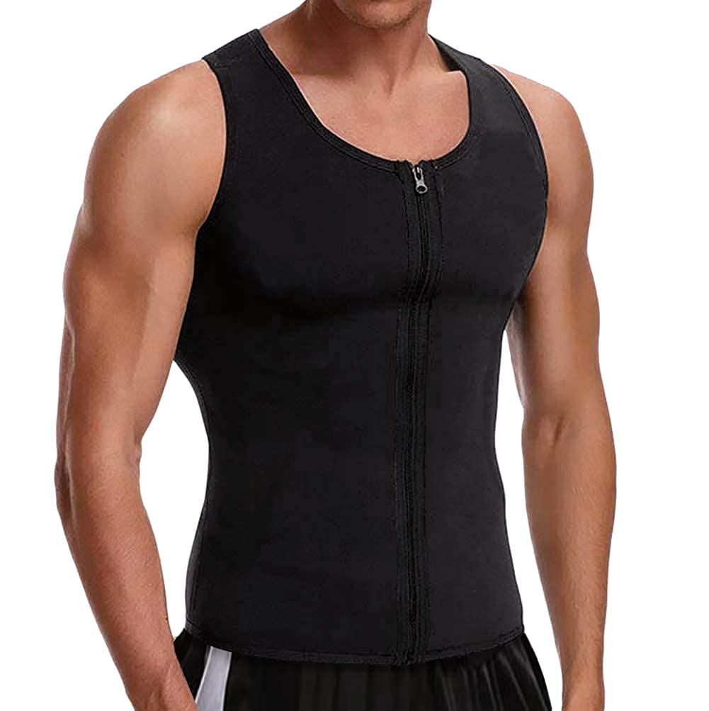 Cimkiz Hot Sweat Vest Neoprene Sauna Vest for Weight Loss Tummy Fat Burner Slimming
