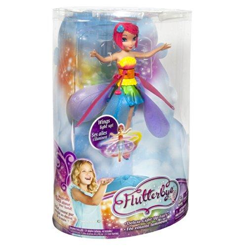 Deluxe Light Up Flutterbye Fairy - Rainbow by Flutterbye Fairy (Image #6)