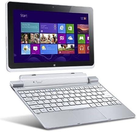Acer Iconia A510 - Tablet de 10.1 pulgadas (Windows 8, 64 GB, wifi, 1.8 GHz), color plateado (importado)