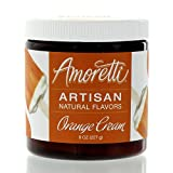 Amoretti Natural Artisan Flavor Creamsicle Orange Cream, 5.78 Fluid Ounce
