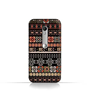 Moto X play TPU Silicone Case With Ethnic Boho seemless Pattern