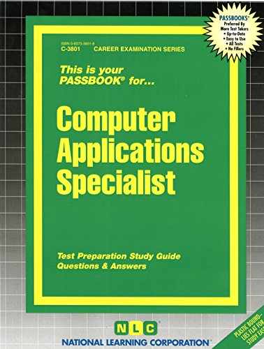 Download computer applications specialistpassbooks career download computer applications specialistpassbooks career examination series book pdf audio idqqz09aq fandeluxe Image collections
