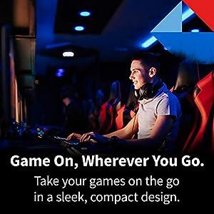 Toshiba Canvio Gaming 4TB Portable External Hard Drive USB 3.0, Black for PlayStation, Xbox, PC, & Mac - HDTX140XK3CA