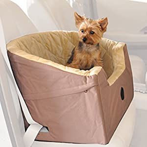 "K&H Pet Products Bucket Booster Pet Seat Small Tan 14.5"" x 20"""