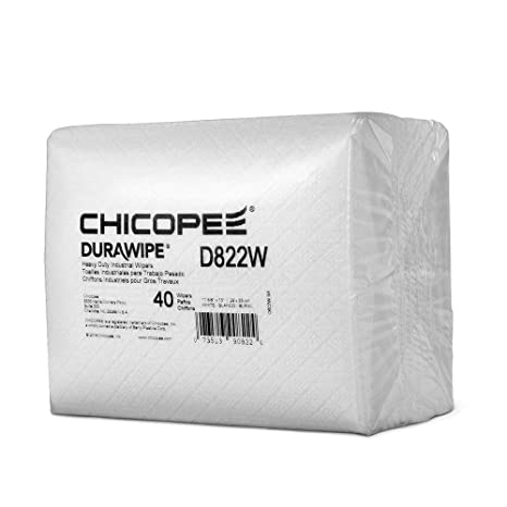 Amazon.com: Chicopee D822W Durawipe Heavy Duty Industrial ...