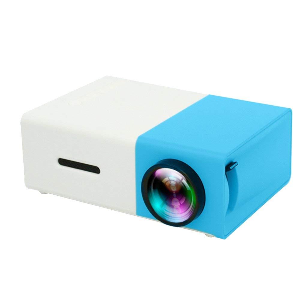 Coldcedar YG300 1080P Home Theater Cinema USB HDMI AV SD Mini Portable HD LED Projector by Coldcedar