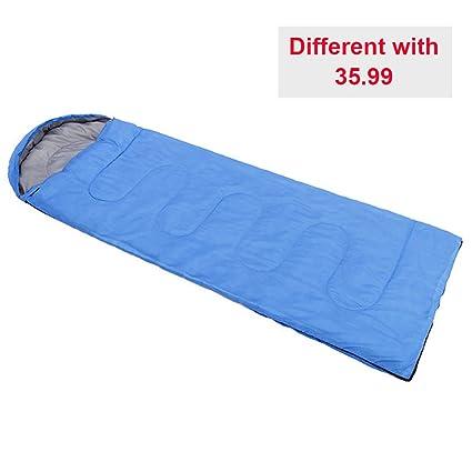 Saco de dormir para acampar, sobre impermeable, ligero, portátil, ideal para 4