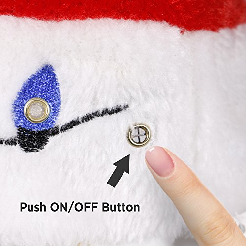 3cdb7e60375b2 Blinking Light-up Plush Red Santa Hat + LED Christmas Bulb Necklace Kit for  Ugly