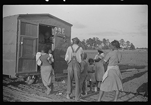 Rolling store which goes from door to door selling groceries, hardware, drygoods, drugs, and a variety of household and farm supplies. Near Montezuma, Georgia by Historic Photos