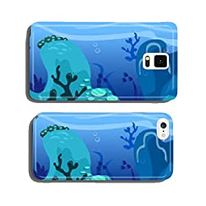 Under The Sea Background Scene cell phone cover case iPhone5