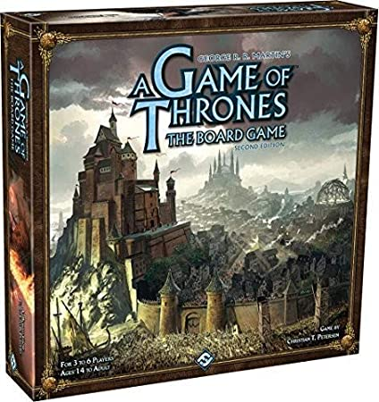 Amazon.com: A Game of Thrones Boardgame Second Edition ...