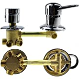 Copper shower room 5 ways mixing valve, cold and hot water switch, shower room mixer faucet