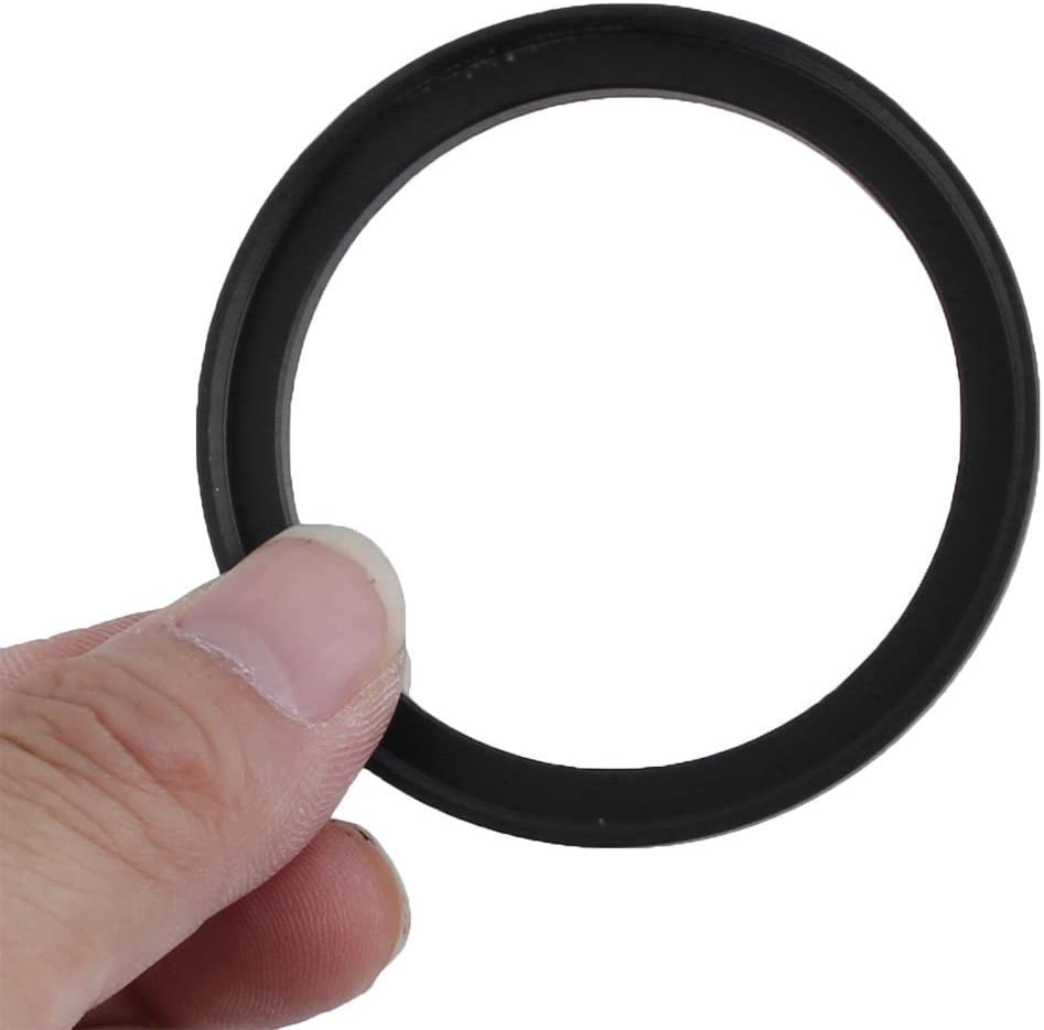 Yunchenghe 58-82mm Camera Black Aluminum Adapter Ring Lens Adapter for Camera Filter Adapter Ring