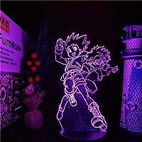 SHENWANSAN 3D Night Light Hunter X Hunter Gon and Killua 3D Led Anime Lamp Night Lights Illusion Table Lamp for Home…