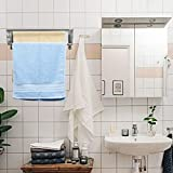 Ogrmar Stainless Steel Space-Saving Towel