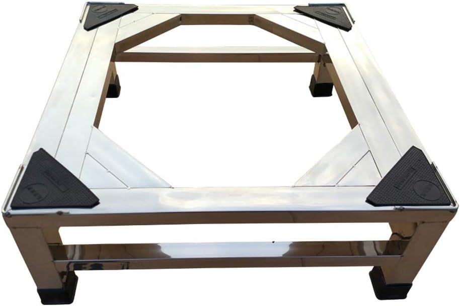 HAPzfsp 洗濯機用ブラケット ステンレス鋼の洗濯機の棚の冷却装置ブラケットのドライヤーの基盤のスリップの耐久力のあるを高めること 乾燥機、調理器具、冷蔵庫、耐衝撃性、滑り止め (Size : 45×45×20cm)