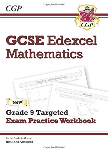 Download New GCSE Maths Edexcel Grade 8-9 Targeted Exam Practice Workbook (includes Answers) ebook